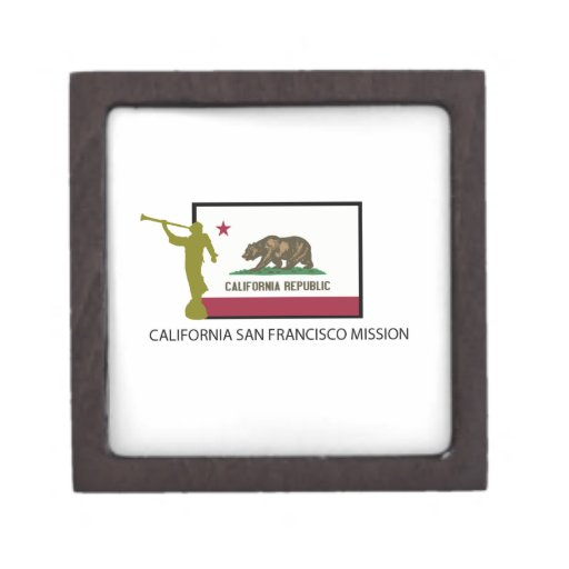 CALIFORNIA SAN FRANCISCO MISSION LDS CTR PREMIUM KEEPSAKE BOX
