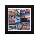 California - San Francisco Photo Collage Gift Box