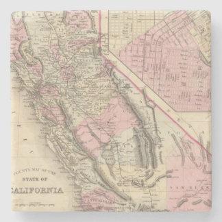 California, San Francisco Posavasos De Piedra
