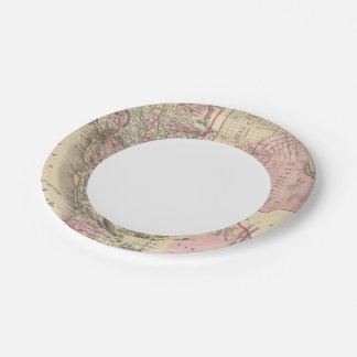 California, San Francisco 7 Inch Paper Plate