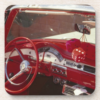 California:  Santa Ynez Valley, Solvang, 1957 Beverage Coaster