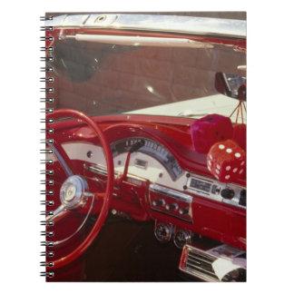 California:  Santa Ynez Valley, Solvang, 1957 Spiral Notebook