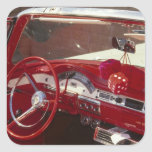 California:  Santa Ynez Valley, Solvang, 1957 Square Sticker