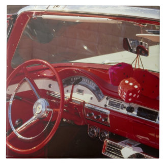 California:  Santa Ynez Valley, Solvang, 1957 Tile