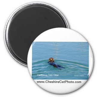 California Sea Otter California Products Refrigerator Magnets