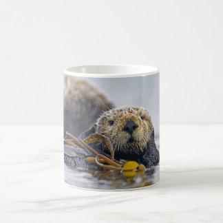 California Sea Otter Classic White Coffee Mug