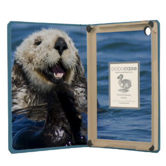California Sea Otter Enhydra lutris) grooms iPad Mini Retina Cover