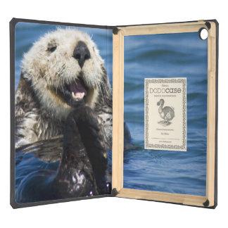 California Sea Otter Enhydra lutris) grooms iPad Air Covers
