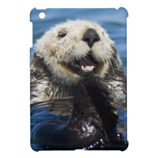 California Sea Otter Enhydra lutris) grooms Cover For The iPad Mini