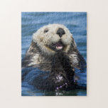 "California Sea Otter Enhydra lutris) grooms Jigsaw Puzzle<br><div class=""desc"">California Sea Otter (Enhydra lutris) grooms its fur - Moss Landing,  California � Jim M. Goldstein / DanitaDelimont.com</div>"