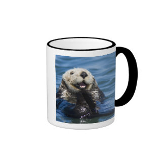 California Sea Otter Enhydra lutris) grooms Ringer Coffee Mug