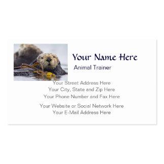 California Sea Otter Otter Surprise Business Card