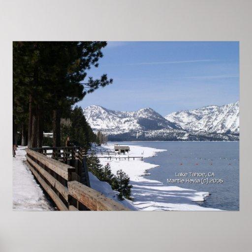California Seasons - Lake Tahoe - Poster
