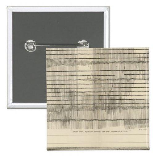 California Seismograms 10 Button