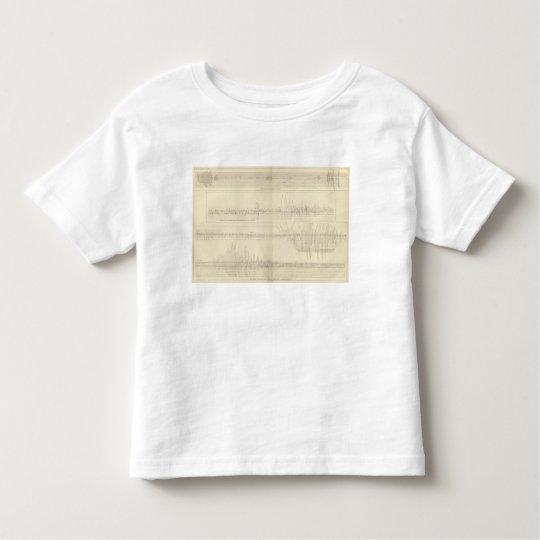 California Seismograms 11 Toddler T-shirt