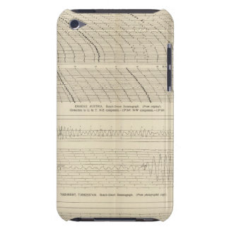 California Seismograms 13 iPod Touch Case