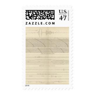 California Seismograms 13 Postage