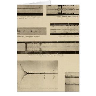 California Seismograms 2 Card
