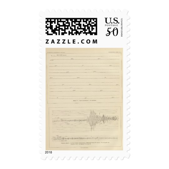 California Seismograms 4 Postage