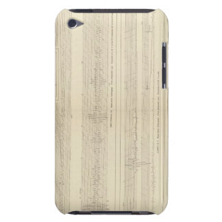 California Seismograms 8 iPod Touch Cover