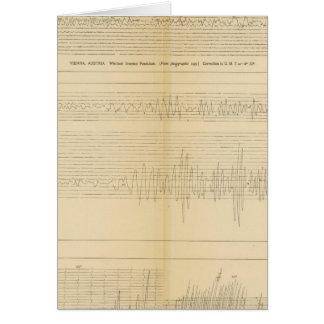 California Seismograms 9 Card
