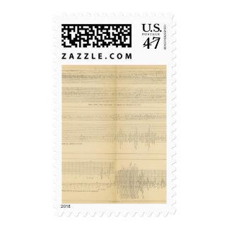 California Seismograms 9 Postage