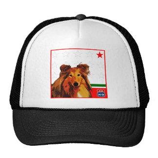 California Shetland Sheepdog Trucker Hat