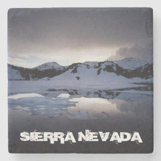 California, Sierra Nevada Mountains 13 Stone Coaster