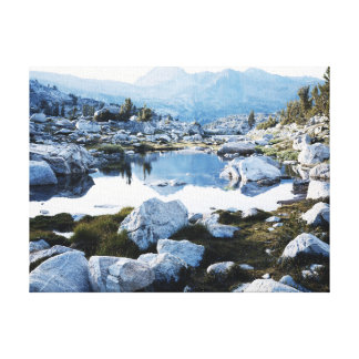 California, Sierra Nevada Mountains 16 Canvas Print