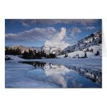 California, Sierra Nevada Mountains, Dana Peak Card