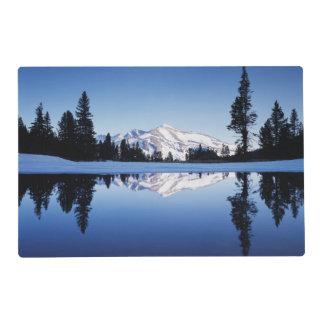 California, Sierra Nevada Mountains, Yosemite 9 Placemat