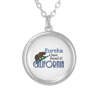 CALIFORNIA SILVER PLATED NECKLACE