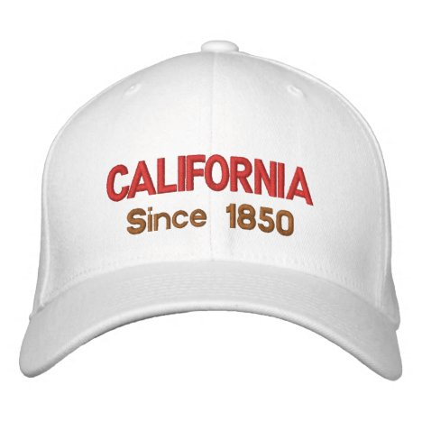 California Since 1850 Cap