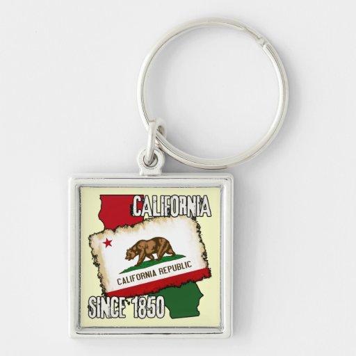 California, Since 1850 Key Chain