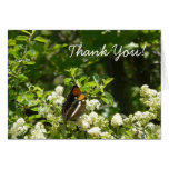 California Sister Butterfly Thank You Card