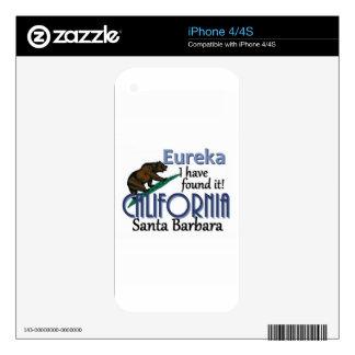 CALIFORNIA iPhone 4S SKINS