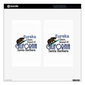 CALIFORNIA DECALS FOR KINDLE FIRE