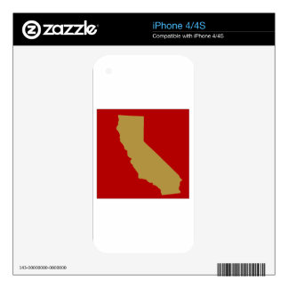 CALIFORNIA SKINS FOR iPhone 4S