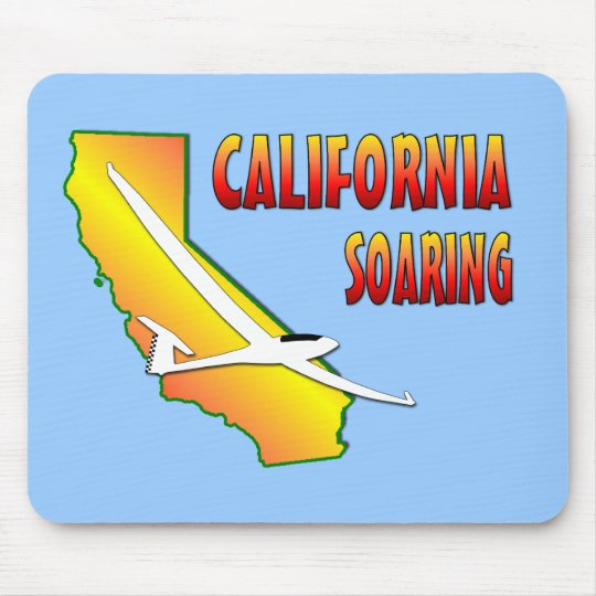 California Soaring Mouse Pad