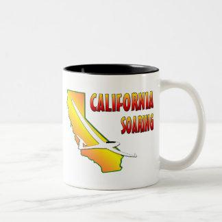 California Soaring Two-Tone Coffee Mug