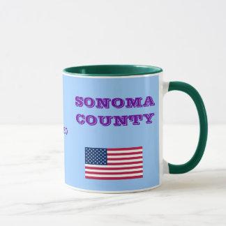 California Sonoma County Coffee Mug