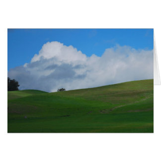 California Sonoma Wine Country Photo Greeting Card