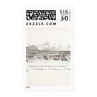 California South side Front and Battery Postage