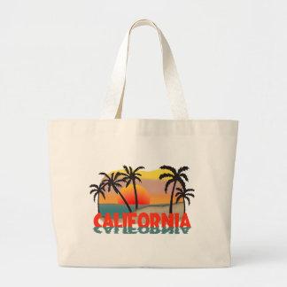California Souvenir Large Tote Bag