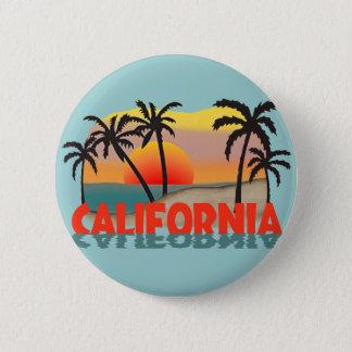 California Souvenir Pinback Button