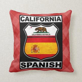 California Spanish American Cushion