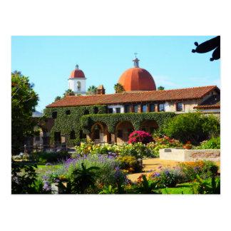 California Spanish Mission Church Postcards