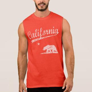 California Sport Style Sleeveless Tee