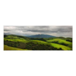 California Spring Panorama Photograph