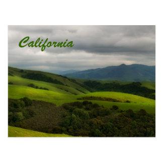 California Spring Panorama Postcard
